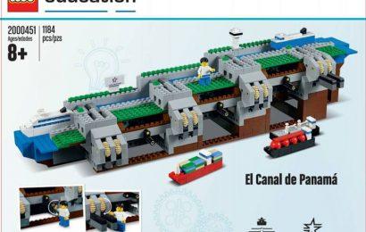 Панамский канал своими руками. LEGO-версия Панамского канала.