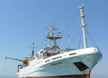 17. 11. 2016 года уникальное украинское судно вышло на исследование шельфа  Черного моря