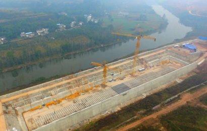 В провинции Китая, Сычуань началось полномасштабное строительство копии круизного лайнера «Титаник»