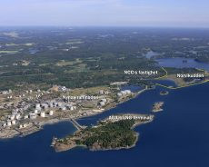 Ports of Stockholm started construction of a new port for containers and rolling goods