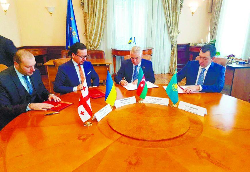 Азербайджан, Грузия, Казахстан, Кыргызстан и Украина готовы создать совместное предприятие в рамках проекта «ТМТМ»