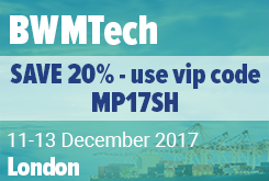 The 13th Annual BWMTech Conference, 12-14 December, London
